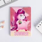 Блокнот А7 16 листов Summer unicorn