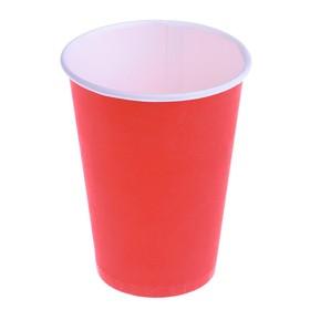 """Стакан """"Красный"""", для горячих напитков 450 мл, диаметр 90 мм"""