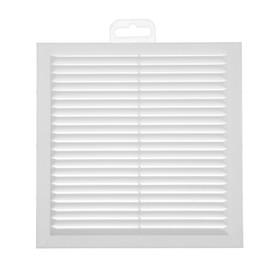 Решетка вентиляционная РВ, 192 х 192 мм, белая Ош