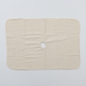 Салфетка для пола с отверстием 3-х слойная «Эконом», 50×80 см, оверлок, неткол Ош