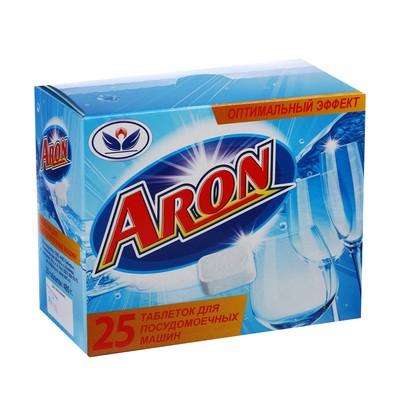 Таблетки для посудомоечных машин ARON, 25 шт - Фото 1