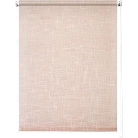 Рулонная штора «Шантунг», 40 х 175 см, цвет персик Ош