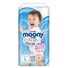 Подгузники-трусики для мальчиков Moonyman, размер L (9-14 кг), 44 шт.