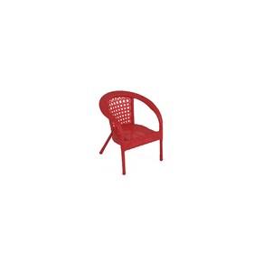 Кресло DECO мини, 45*45*52 см, цвет красный