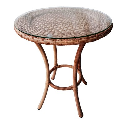 Стол кофейный DEKO круглый, d-60 см, цвет капучино - Фото 1