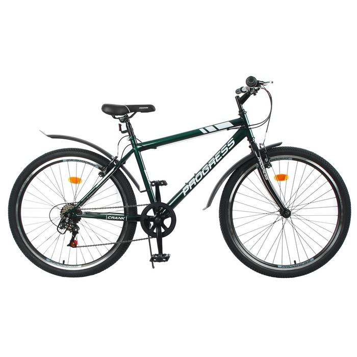 """Велосипед 26"""" Progress модель Crank RUS, цвет темно-зеленый, размер 17"""""""