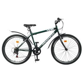 """Велосипед 26"""" Progress модель Crank RUS, цвет темно-зеленый, размер 19"""""""
