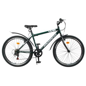 Велосипед 26' Progress модель Crank RUS, цвет темно-зеленый, размер 19' Ош