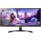 """Монитор LG 34WL500-B 34"""", IPS, 2560x1080, 75Гц, 5мс, HDMI, чёрный"""