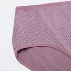 Трусы женские слипы 831 цвет тёмно-фиолетовый, р-р 54-56 - Фото 2