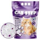 Наполнитель силикагелевый CAT STEP Crystal Lavander, 3,8 л