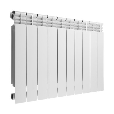Радиатор алюминиевый Lammin PREMIUM, 500х80 мм, 10 секций