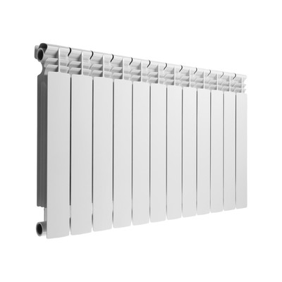Радиатор биметаллический Lammin PREMIUM, 500х80 мм, 12 секций