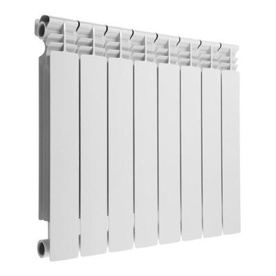 Радиатор биметаллический Lammin PREMIUM, 500х80 мм, 8 секций