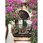 Набор для вышивки лентами «Балкон»