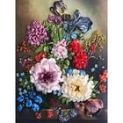 Набор для вышивки лентами «Букет с тюльпанами»