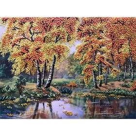 Набор для вышивки лентами «Осень»