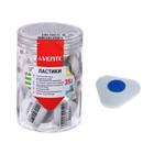 Ластик deVENTE Core, синтетика 40 х 40 х 10мм, треугольный, пластиковый держатель, белый (штрих-код на каждом ластике)