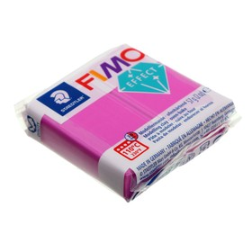 Полимерная глина запекаемая 57г FIMO neon effect, фиолетовый