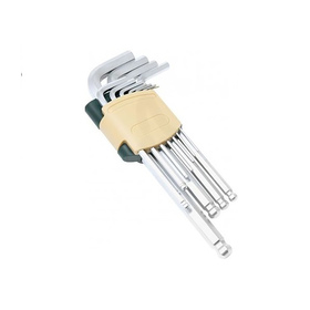 Набор ключей ROCKFORCE RF-5093LB, Г-образных, 6-гранных, длинных, с шаром, 9 предметов