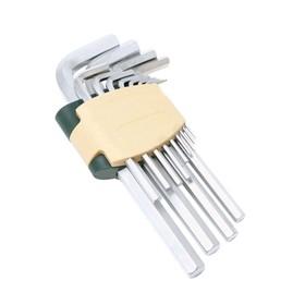 Набор ключей ROCKFORCE RF-5116, Г-образных, 6-гранных, 11 предметов