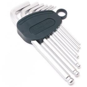 Набор ключей ROCKFORCE RF-5072LB, шестигранных, с шаром, 7 предметов