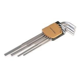 Набор ключей ROCKFORCE RF-5093XL, шестигранных, экстрадлинных, 9 предметов