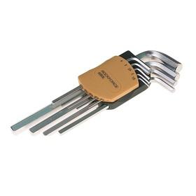 Набор ключей ROCKFORCE RF-5102L, шестигранных, удлиненных, 10 предметов