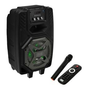 Портативная караоке система MAX Q82, 20 Вт, FM, AUX, micro SD, USB, BT, Li-Ion 4000 мАч