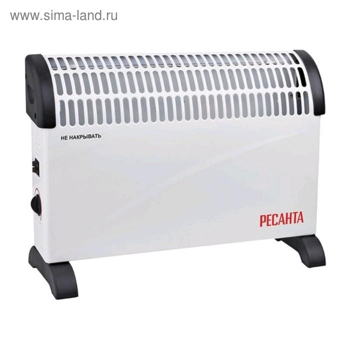Обогреватель Ресанта ОК-1500С, конвекторный, 1500 Вт, до 15 м2, IP20, терморегулятор, белый