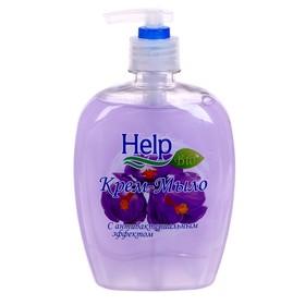 """Жидкое мыло """"Help"""" с Антибактериальным эффектом 500 г с дозатором"""