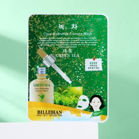 Маска для лица Billidian с экстрактом зеленого чая