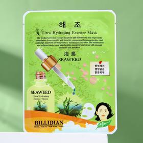 Тканевая маска для лица Billidian с морскими водорослями