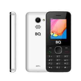 """Сотовый телефон BQ M-1806 ART+, 1,77"""", 32Мб, microSD, 2 sim, белый"""