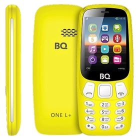"""Сотовый телефон BQ M-2442 One L+ 2,4"""", 64Мб, microSD, 2 sim, жёлтый"""