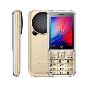 """Сотовый телефон BQ M-2810 BOOM XL 2,8"""", 32Мб, microSD, 2 sim, золото"""