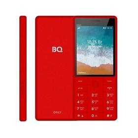 """Сотовый телефон BQ M-2815 Only 2,8"""", 32Мб, microSD, 2 sim, красный"""