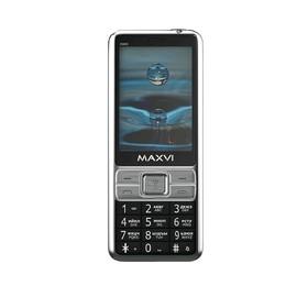 "Сотовый телефон MAXVI X900 2,8"", 32Мб, microSD, 1,3Мп, 2 sim, чёрный"