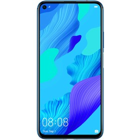 """Смартфон Huawei Nova 5T 6,26"""", 128Гб, 6Гб, 48+16+2+2МП, 4G, Android 9, синий"""
