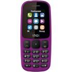 "Сотовый телефон INOI 101 1,8"", microSD, 2 sim, фиолетовый"
