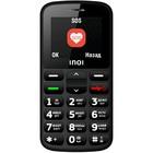 "Сотовый телефон INOI 117B 1,77"", microSD, 0,3МП, 2 sim, чёрный"