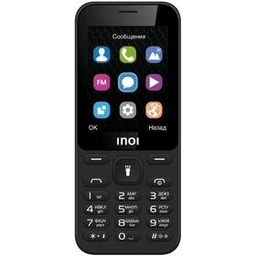 "Сотовый телефон INOI 239 2,4"", microSD, 2 sim, чёрный"