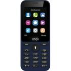 "Сотовый телефон INOI 239 2,4"", microSD, 2 sim, синий"