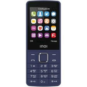 "Сотовый телефон INOI 281 2,8"", microSD, 2 sim, синий"