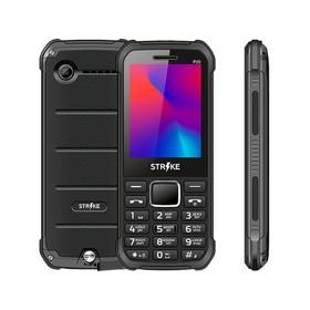 """Сотовый телефон STRIKE P20, 2.4"""", 2 sim, 32Мб, microSD, 2200 мАч, чёрный"""