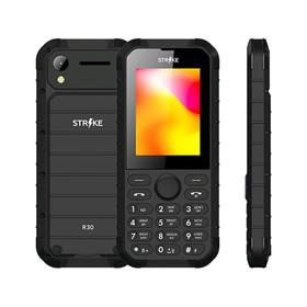 "Сотовый телефон STRIKE R30 2,8"", 32Мб, microSD, 0,3Мп, 2 sim, чёрный"