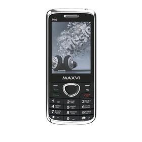 """Сотовый телефон MAXVI P10 2,8"""", 32Мб, microSD, 1,3Мп, 2 sim, тёмно-синий"""