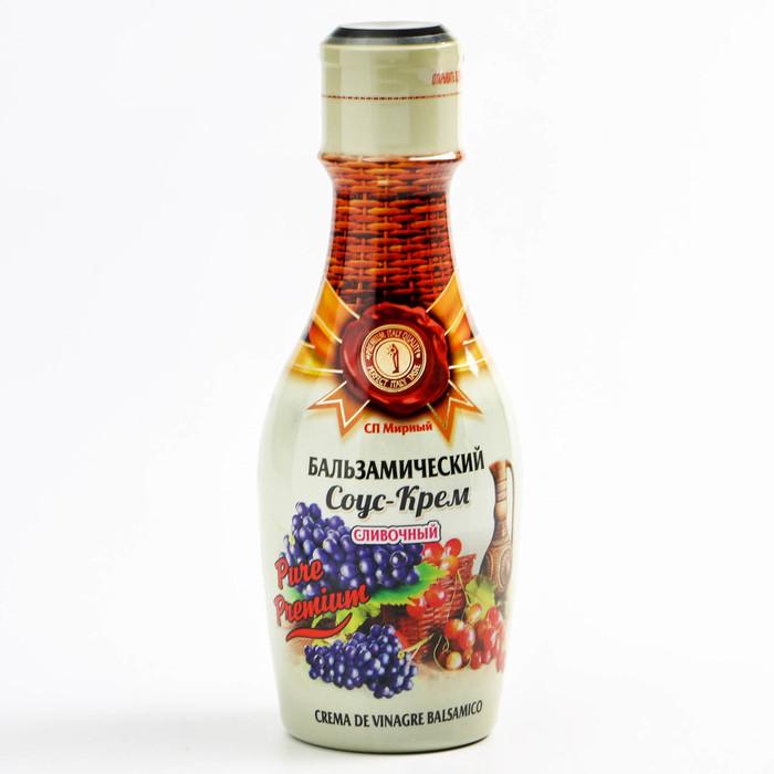 Бальзамический соус-крем сливочный Pure Premium, 220 мл