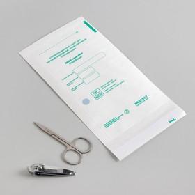 Пакет для стерилизации, влагопрочный, 115 × 200 мм, цвет белый Ош