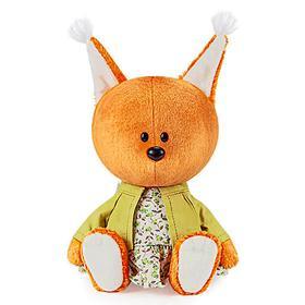 Мягкая игрушка «Белка Бика в платье и курточке», 15 см